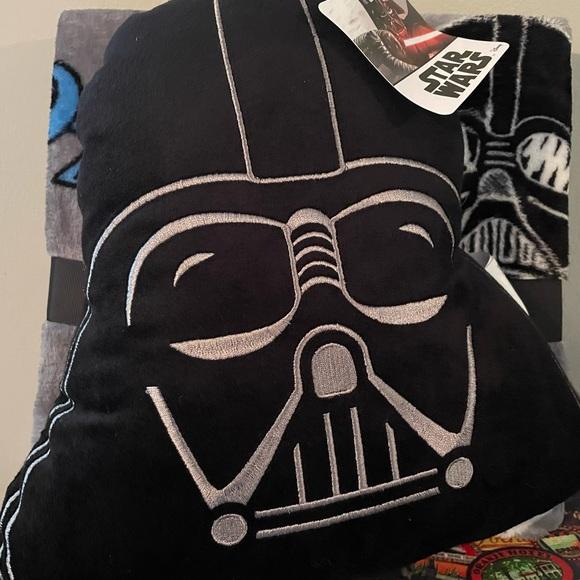 Star Wars Pillow & Plush Throw Set